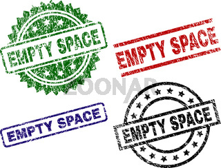 Grunge Textured EMPTY SPACE Seal Stamps