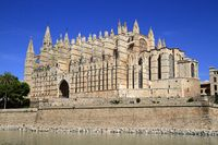 Cathedral of Palma Mallorca or La Seu Mallorca, Balearic Islands, Spain