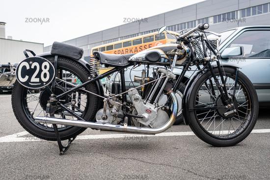Motorcycle Sarolea 31 B, 1931.