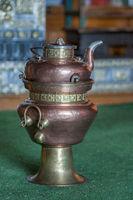Traditional copper tea pot, Ladakh, Jammu and Kashmir, India