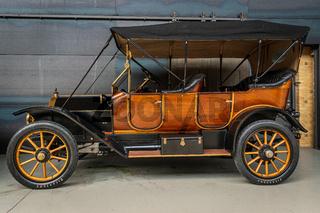 Vintage car Moyer Open Tourer 5.3 litre, 1913.