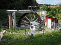 Modern water wheel for electricity production