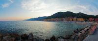 Panoramic view on Varigotti - Liguria - Italy
