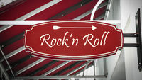 Street Sign to Rockn Roll