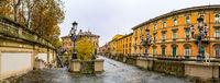 Scalinata Del Pincio in Bologna, Italy
