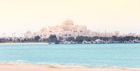 New Presidential Palace, Abu Dhabi, United Arab Emirates.