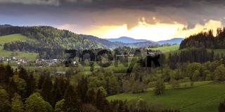 Blick nach St.Peter im Schwarzwald