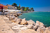 Novigrad Istarski idyllic coastline and town waterfront view