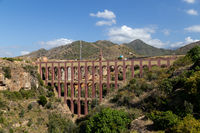 Eagle Aqueduct in Nerja, Spain