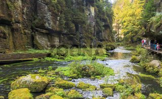 Edmundsklamm, Hrensko, (deutsch Herrnskretschen) Tschechien