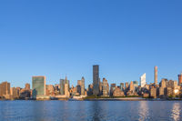 skyline of new york