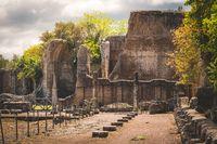 villa adriana in Tivoli - Rome - Italy
