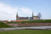 Kronborg Castle in Denmark
