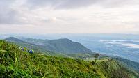 Hilltop viewpoint at Phu Thap Berk