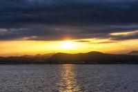 View of Hallasan Sunset