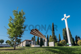 Holy altar in Sotto il Monte Giovanni XXIII BG