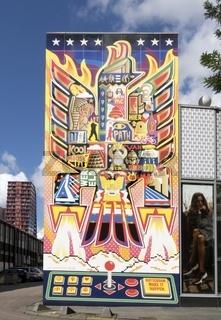 Graffiti, Rotterdam, Südholland, Niederlande