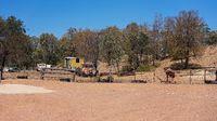 Australian Gem Fields Abandoned Mining Equipment