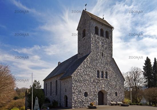 St Lucia Church in Ostentrop, Finnentrop, Sauerland, North Rhine-Westphalia, Germany, Europe