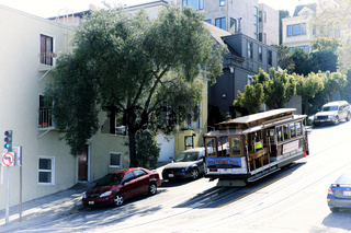 Historic San Francisco Cable Car