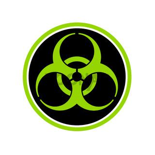 Biohazard Symbol Circle