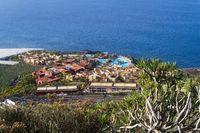 Hotel area on La Palma