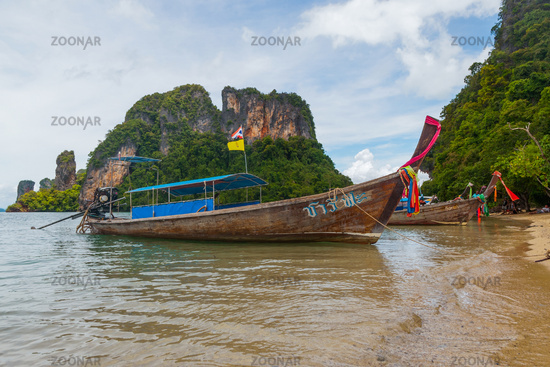 Thai boats, Krabi