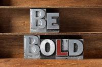 be bold tray