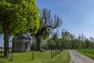 Bergkapelle im Frühling