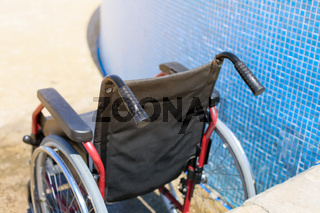 Accessible beach for disabled people