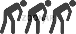 Vector Slave People Icon