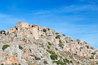 The medieval village of Anavatos of Chios, Greece