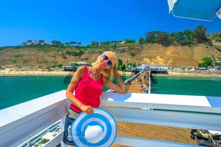 Malibu Pier Woman