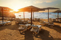 Beach of Red sea