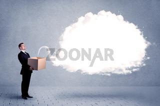 Business cloud in box
