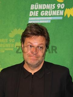 Bundesvorsitzender Bündnis 90-DIE GRÜNEN Robert Habeck beim Neujahrsempfang der Fraktion Bündnis 90 Die Grünen in Magdeburg