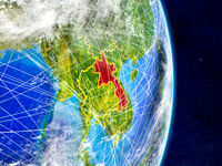 Laos on Earth with networks