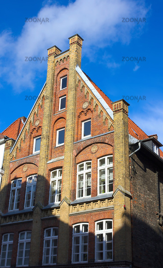 gabled houses - - Lueneburg - VII -