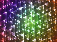 Set triangulars background