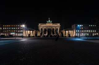 The Brandenburg Gate is an 18th-century neoclassical triumphal arch in Berlin