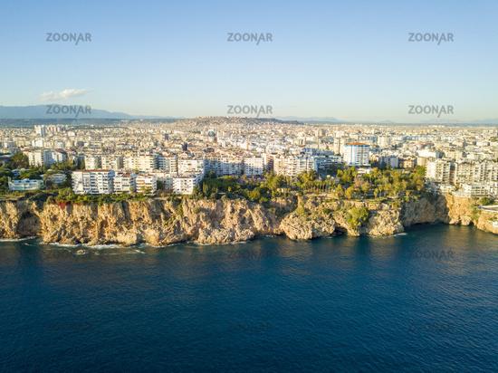 Aerial View Coast Apartments Yavuz Ozcan Antalya
