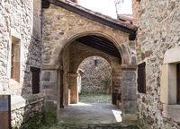 Barcena Mayor, Cabuerniga valley in Cantabria, Spain.