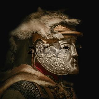 Portrait of Legionary in Mask