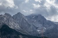 Zugspitze in bayern im Sommer