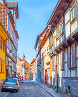 Street in Quedlinburg