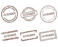 October Stempel - October stamps