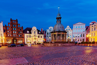 oldtown and world heritage Wismar