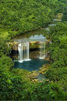 Krang suri waterfall, aintia Hills District, Meghalaya, India