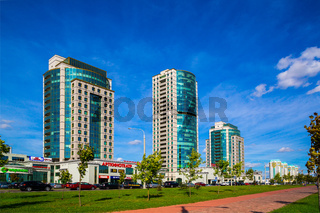 Minsk, Belarus Dzerzhinsky Avenue