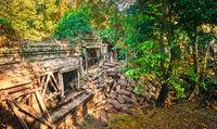 Beng Mealea or Bung Mealea temple. Siem Reap. Cambodia